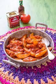 recette cuisine recette de tapas patatas bravas moulinex cuisine companion