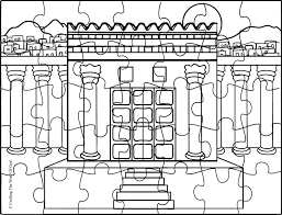 temple coloring page temple crafting the word of god