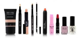 bys cosmetics low prices the skin lipstick and nail polish