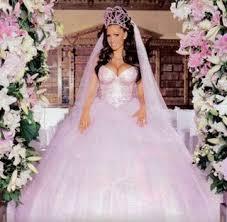 Wedding Dresses 2009 Blogger Of The Bride Worst Celebrity Wedding Gowns