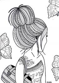 cool coloring pages for girls pin by tracy on art pinterest coloring books zentangle and