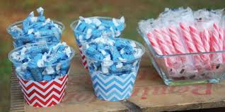 blue baby shower decorations blue chevron baby shower decorations theme babyshowerstuff