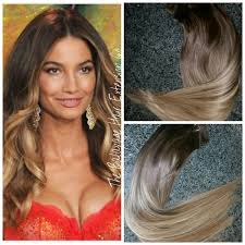 balayage hair extensions 2 10 caramel brown balayage hair extensions clip in set