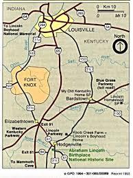 kentucky map bardstown statemaster maps of kentucky 14 in total