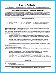 Sample Resume Carpenter by Carpenters Resume Virtren Com