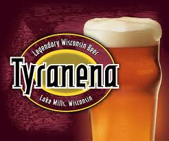 Illinois Brewery Map by Tyranena Legendary Wisconsin Beer