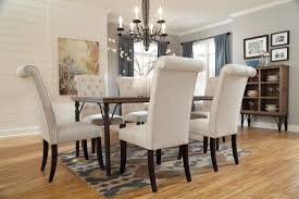 Tufted Upholstered Chairs Chair Dining Room Sets With Upholstered Chairs Alliancemv Com