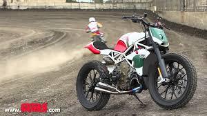 ducati motocross bike riding roland sands design u0027s desmosedici street tracker youtube