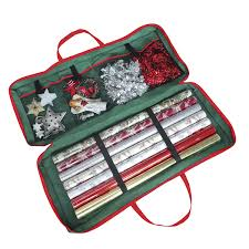 christmas gift wrap fabric storage bag 82 x 34 x 13 cm for
