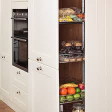 kitchen larder cabinets tall kitchen larder units storage cabinets solid wood kitchen