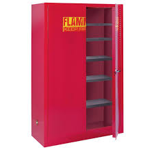 flammable cabinet home depot sandusky 65 in h x 43 in w x 18 in d steel freestanding paint and