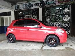 mitsubishi eterna modifikasi modifikasi velg nissan march ring 15 di kota karawang jual velg