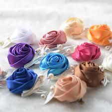 silk ribbon roses silk flower corsage groom boutonniere handmade satin ribbon