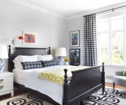 White Frame Beds How To Design A Room Around A Black Bed