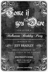 chalkboard gothic grunge flourish set halloween birthday