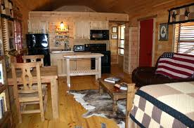 one room cabin home design