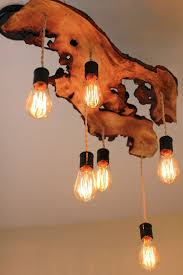 Stand Up Chandelier 20 Beautiful Diy Wood Lamps And Chandeliers That Will Light Up
