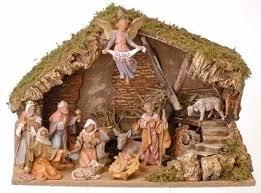11 fontanini nativity set 41615