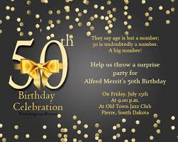 what to say on 50th birthday card 50th birthday invitation wording