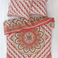magical thinking pyaar medallion duvet from urban outfitters