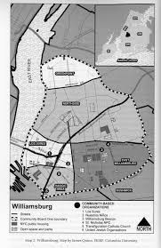 Williamsburg Brooklyn Map Living Los Sures