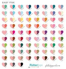 pink combination color options flutterbye prints color gallery