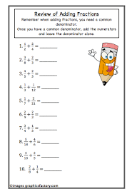 teaching high math sneak peek of my fractions workbook