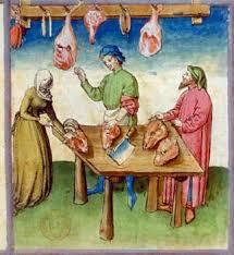 cuisine au moyen age 19 cuisine médiévale au château de cherveux jambons saucisses