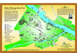 parks map a guide to zilker park in free in