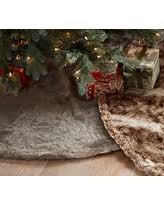 faux fur tree skirt save your pennies deals on plaid fur tree skirt