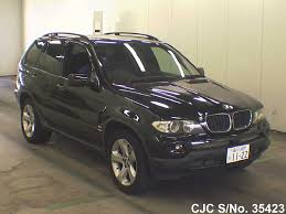 bmw x5 black for sale 2003 bmw x5 black for sale stock no 35423 japanese used cars