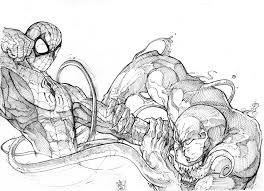spider man venom nicholaskole deviantart