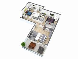 house plans and more l shaped house plans fresh 25 more 3 bedroom 3d floor plans home