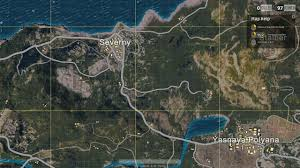 pubg yasnaya map and all locations in playerunknown s battlegrounds indie obscura