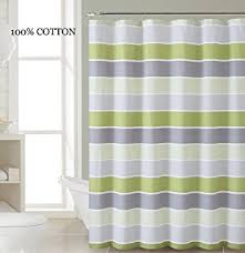 Gray And Brown Shower Curtain - amazon com sand fabric shower curtain with pintuck teal and white