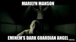 Fell Into Some Feelings Meme - eminem dark guardian angel by jmk prime on deviantart