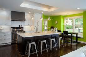 Kitchen Accents Ideas Green Kitchen Walls Kitchen With Green Accent Wall Yellow Kitchen