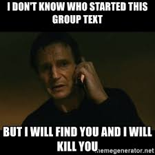 Group Text Meme - group text love it or hate it toyota tundra forum