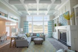 best carpet color for cute family room design with fireplace and