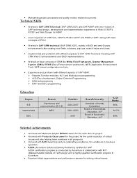 Ui Developer Resume Format Functional Resume Samples
