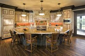 large kitchen island kitchen island inspiration for a transitional light wood floor