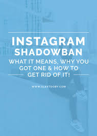What Does Hashtag Mean Victim To An Instagram Shadowban Here U0027s Why U0026 How To Safegaurd