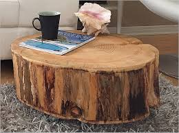 tree trunk end table wood stump end table regarding really encourage livimachinery com
