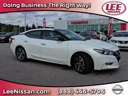 new nissan maxima new nissan maxima in wilson nc inventory photos videos features