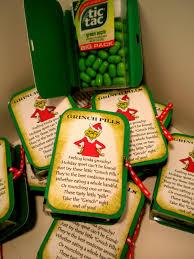diy grinch pills aka green tic tacs grinch pills grinch and