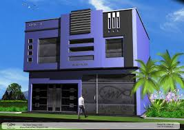 Modern Elevation Modern Commercial Building Designs And Plaza Front Elevation