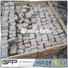 Granite Patio Stones Cube Stone Pavers Bfp Stone Ltd