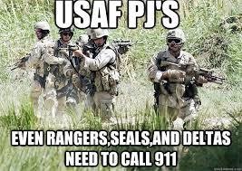 Army Ranger Memes - what is a usaf air commando and how do they rate on the spectrum of