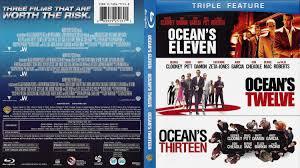 ocean u0027s eleven ocean u0027s twelve ocean u0027s thirteen dvd covers and labels
