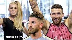 sergio ramos hairstyle 2016 football em men u0027s hair tutorial